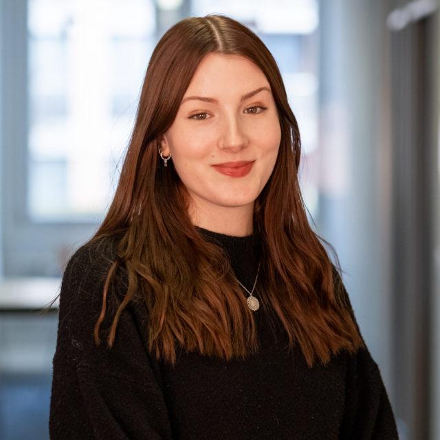 Alexandra Mclachlan, Junior Test Engineer